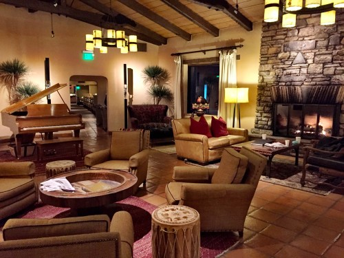 Canyon Ranch cozy lobby