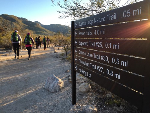 Esperero Trail at Sabino Canyon in Tucson