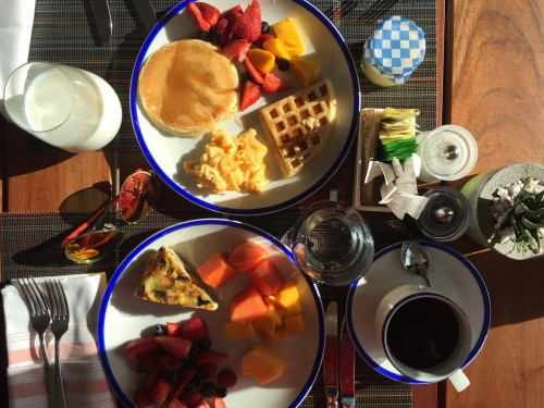 Cocina Milagro breakfast (complimentary when you book with us!)