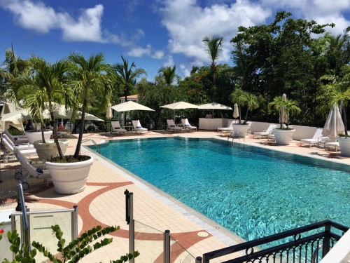 Belmond La Samanna pool