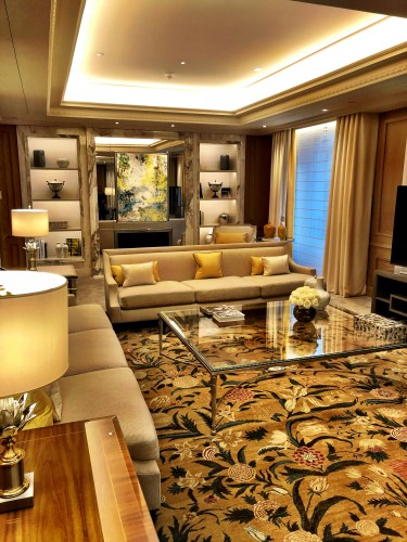 Can you even tell this is a hotel? Imagine entertaining guests in your suite here at the Four Seasons!