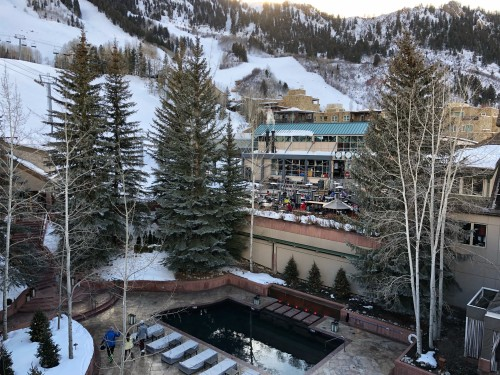 Little Nell, Aspen.. perfectly situated at the gondola base for ski-in, ski-out!