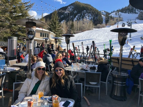 Ajax Tavern at Little Nell, Aspen.. BEST apre ski scene in town!