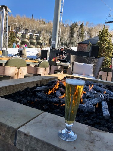 Apres ski at the Viceroy Snowmass