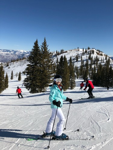Great day on the Snowmass slopes!