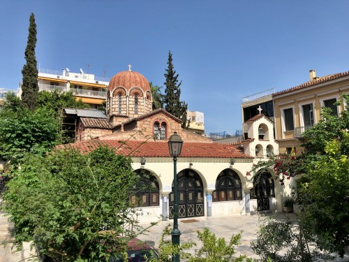 Church of Ayia Aikaterini in Athens